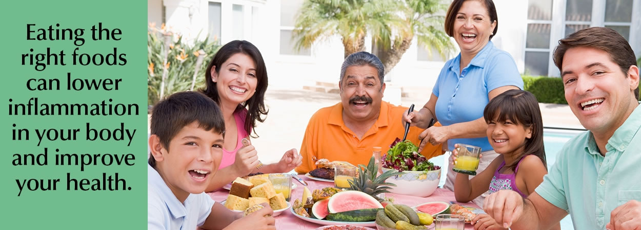 Family Eating Dinner After Being Treated By A Chiropractor In Chesapeake Virginia