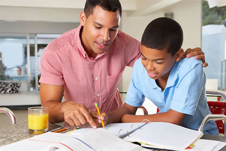 ADHD Chiropractic Care Helps This Father Teach His Son Schoolwork