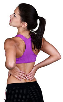 Woman With Leg and Lower Back Pain